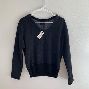 Monrow Cozy V Neck Sweater